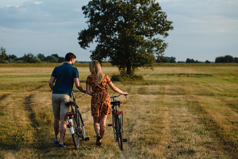 Sesja z rowerami